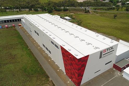 Couverture de la STOL réalisée par l'entreprise costentin
